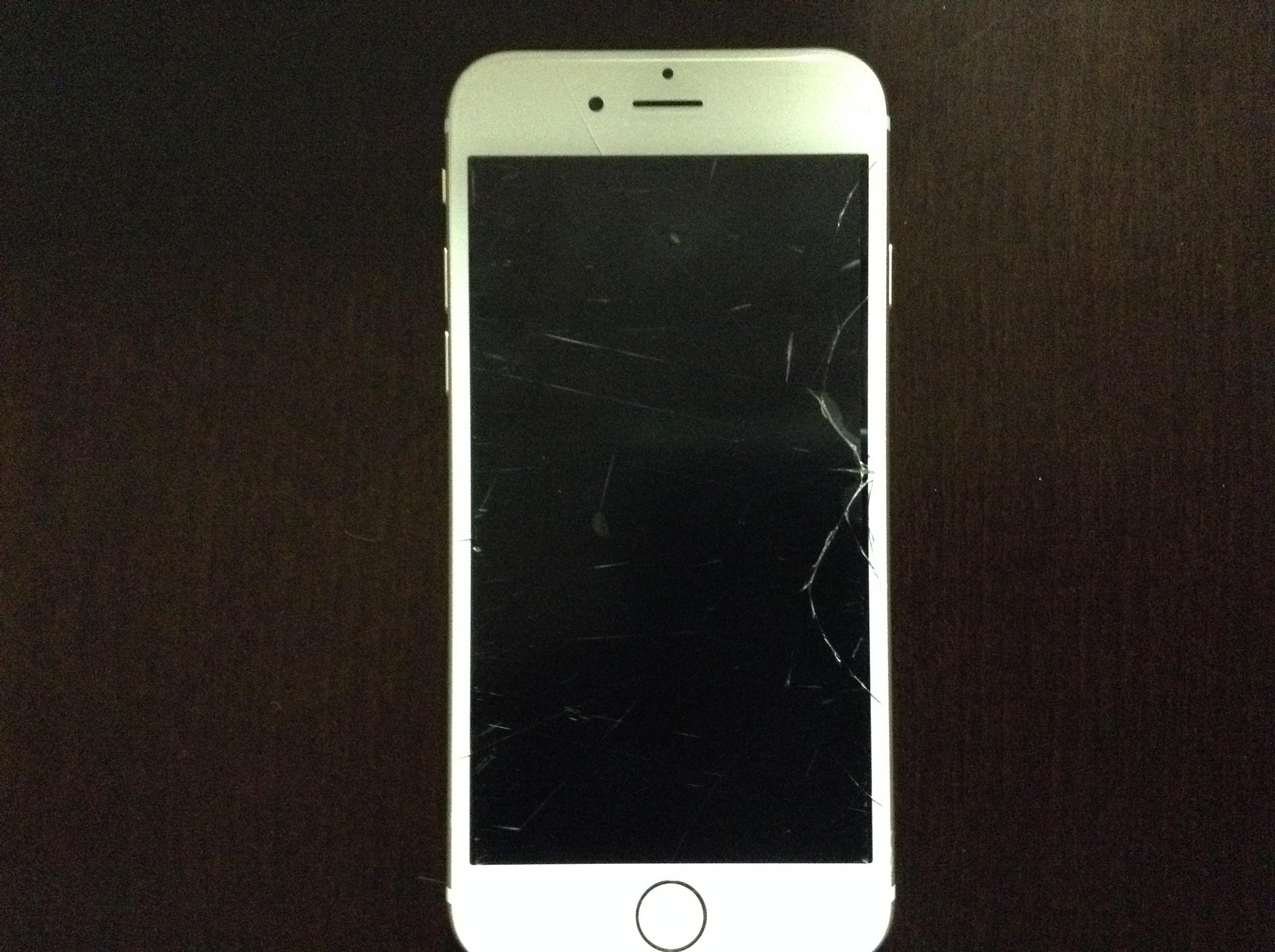 【画面破損!!】iPhone6の液晶ガラスが壊れた時の対処法 auの場合