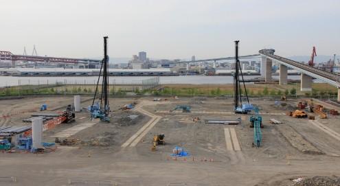 IKEA鶴浜の北側 再開発工事で東京インテリアが出来るらしい 家具の大型専門店