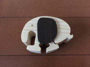 鳥羽ターミナルの木製トコトコ動物おもちゃが安くて可愛い 森本陽太郎さんの手作り 販売は不定期