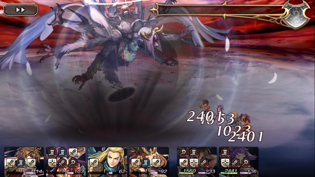 【アナデン24日目】魔獣天使ジオ・アンギラス撃破!レベル50くらいあればリィカでも倒せるのでは?