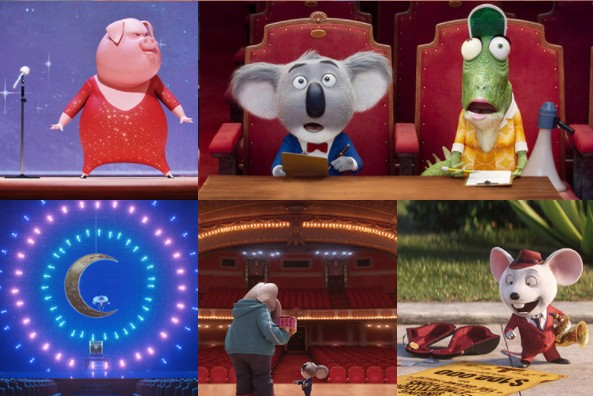 【映画 SING 感想】3歳の幼児でも楽しく最後まで観られる!テンポ・音楽・映像が良い!