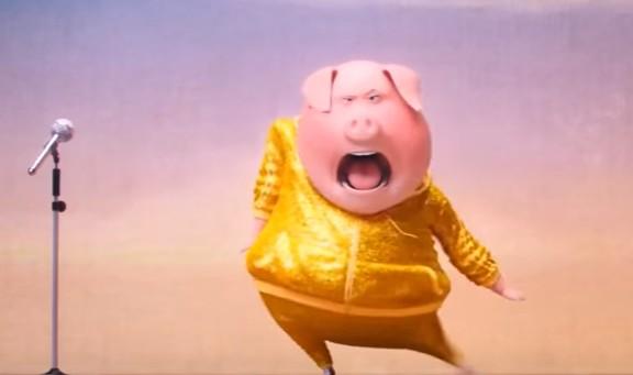 【映画SINGシング動画】オーディションシーンと豚ママのショッピングセンターダンス