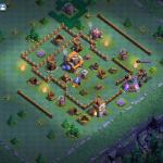 ビルダーホールレベル5 攻めにくいレイアウト配置 ☆2が取れない強敵の村